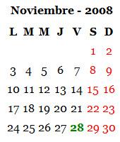 Noviembre 2008