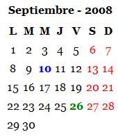 Septiembre 2008