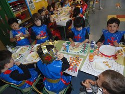 Banquete Medieval en Infantil