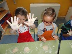 Taller del pan y desayuno saludable en Infantil
