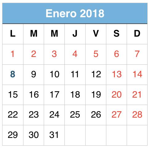 Enero 2018