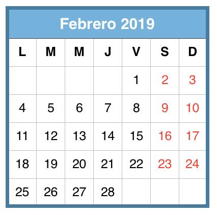 Febrero 2019